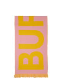 Bufanda estampada rosada de Burberry