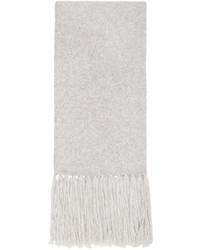 Bufanda gris de AMI Alexandre Mattiussi