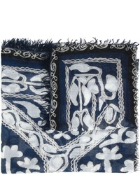 Bufanda ligera azul marino de Figue