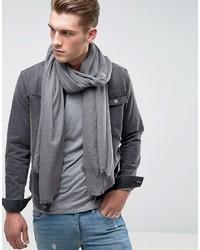 Bufanda ligera gris de Asos