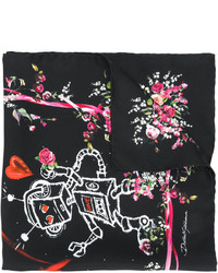Bufanda ligera negra de Dolce & Gabbana