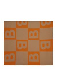 Bufanda naranja de Burberry