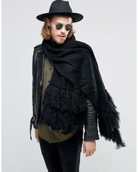 Bufanda negra de Asos