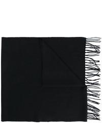 Bufanda negra de Brioni
