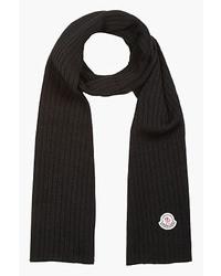 Bufanda negra de Moncler