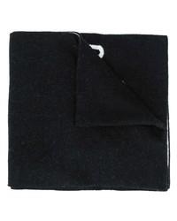 Bufanda negra de Moschino