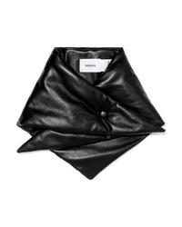 Bufanda negra de Nanushka