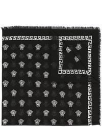 Bufanda negra de Versace