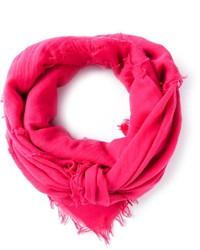 Bufanda rosa de Jil Sander