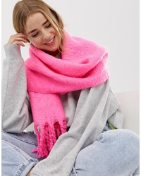 Bufanda rosa de New Look