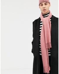 Bufanda rosada de ASOS DESIGN