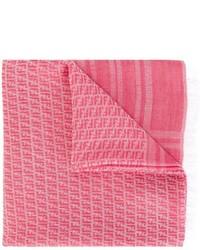 Bufanda rosada de Fendi
