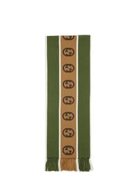 Bufanda verde oliva de Gucci