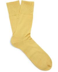 Calcetines amarillos de Falke