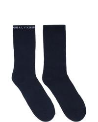 Calcetines azul marino de 1017 Alyx 9Sm