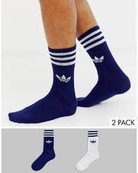 Calcetines azul marino de adidas Originals