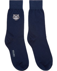 Calcetines azul marino de Kenzo