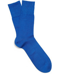 Calcetines azules de Falke