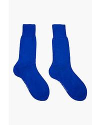 Calcetines azules de Raf Simons