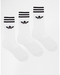 Calcetines blancos de adidas