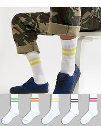 Calcetines blancos de ASOS DESIGN