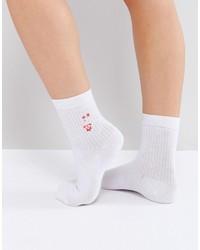 Calcetines blancos de Asos