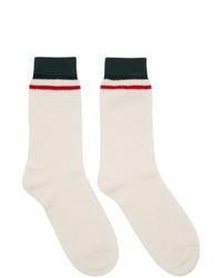Calcetines blancos de Gucci