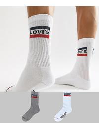 Calcetines blancos de Levi's