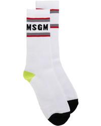 Calcetines blancos de MSGM