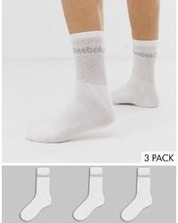 Calcetines blancos de Reebok