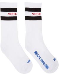 Calcetines blancos de Vetements