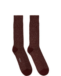 Calcetines burdeos de Paul Smith