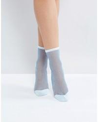 Calcetines celestes de Monki