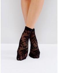 Calcetines de encaje negros de Asos