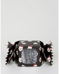 Calcetines de grecas alpinos negros de Asos