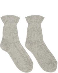 Calcetines de lana en beige de A.P.C.