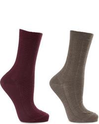 Calcetines de lana en gris oscuro de Falke