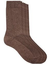 Calcetines de lana marrónes de Asos