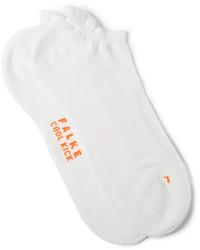 Calcetines de punto blancos