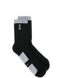 Calcetines de punto negros de Rick Owens