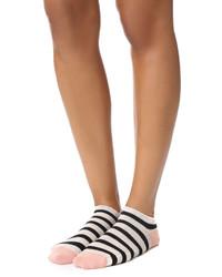 Calcetines de rayas horizontales en beige de Madewell