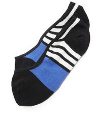 Calcetines de rayas horizontales negros de Kate Spade