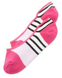 Calcetines de rayas horizontales rosa de Kate Spade