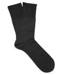 Calcetines en gris oscuro de Falke