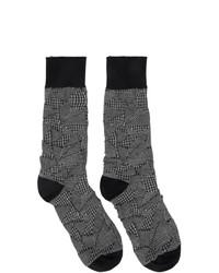 Calcetines en gris oscuro de Issey Miyake Men