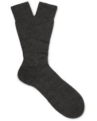 Calcetines en gris oscuro de Pantherella