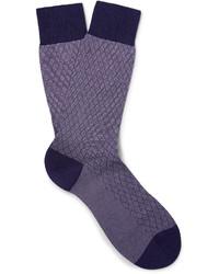 Calcetines en violeta de Pantherella