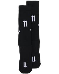 Calcetines estampados negros de 11 By Boris Bidjan Saberi