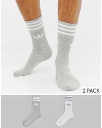 Calcetines grises de adidas Originals