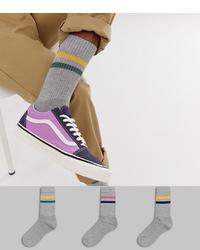 Calcetines grises de ASOS DESIGN
